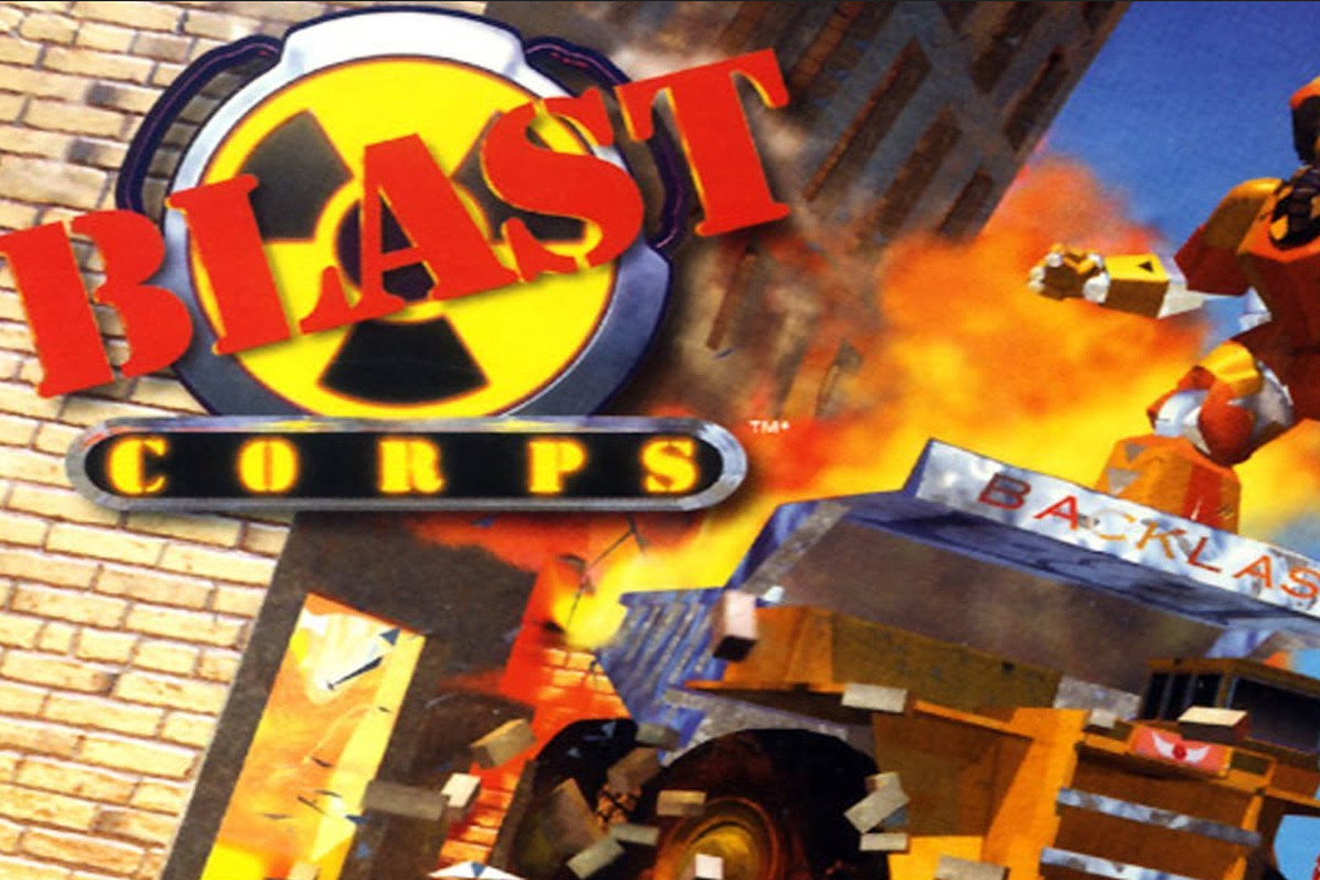 Blast Corps is locked in time, but what a time it was - Polygon