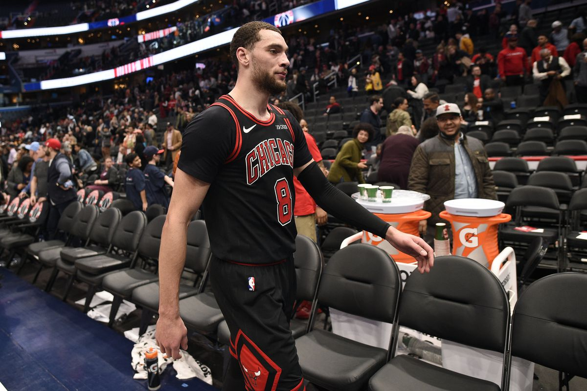 With the Bulls' rebuild not close to going as planned, Zach LaVine could eventually opt to leave Chicago.