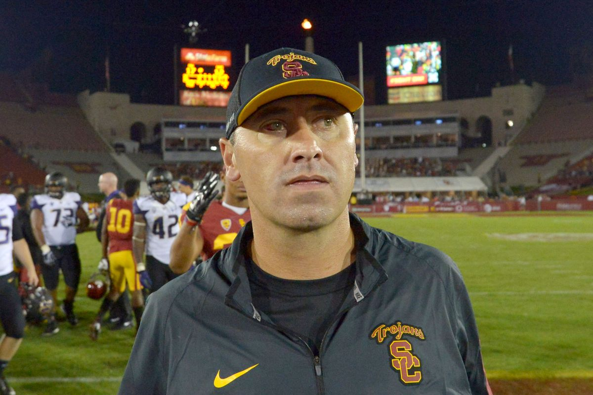 Has Sark coached his last game for the Trojans?