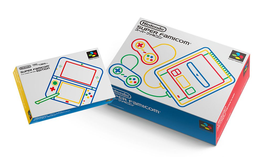 New 3ds Ll Is A Perfect Super Famicom Homage The Verge