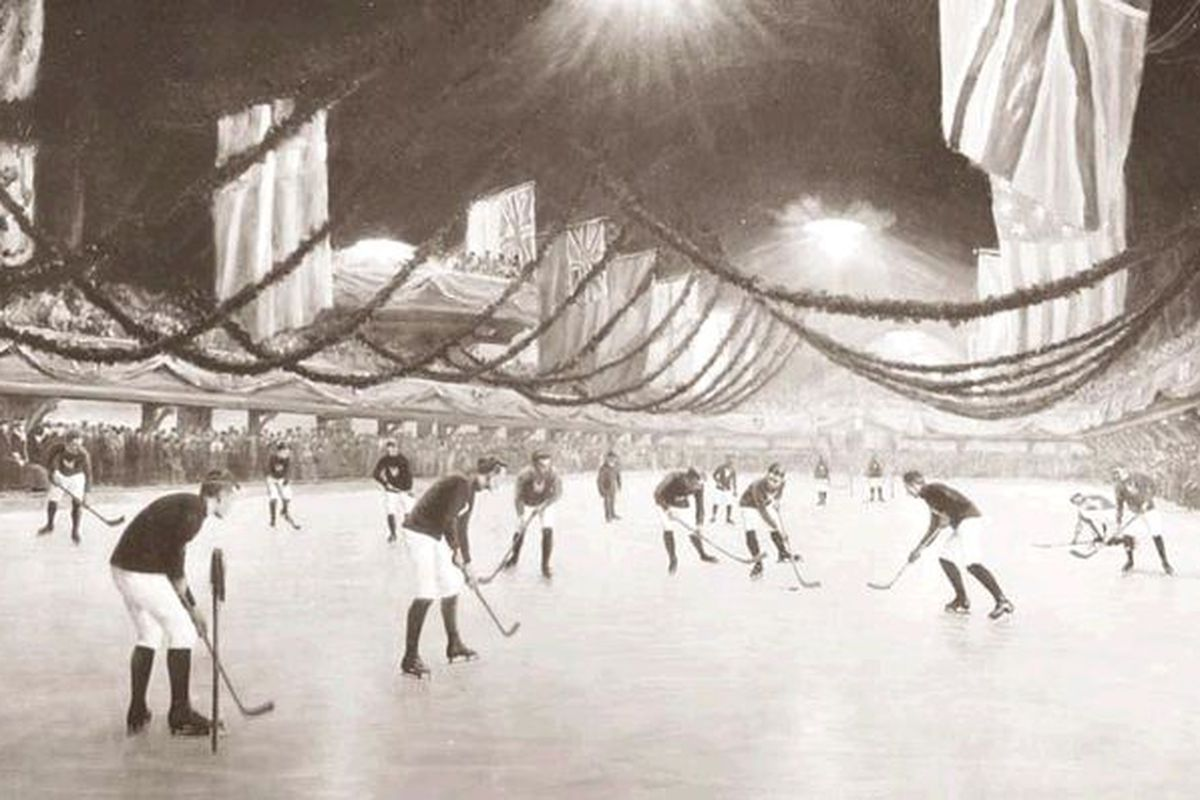 Victoria Rink in Montreal, 1893