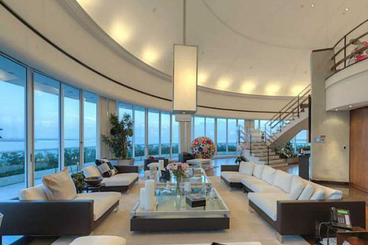 Pharrell Williams Relists Brickell Avenue Penthouse, This Time for ...