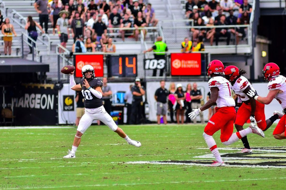 Acclaimed QB McKenzie Milton will lead UCF into what could be a shootout versus SMU. (Photo: Derek Warden)