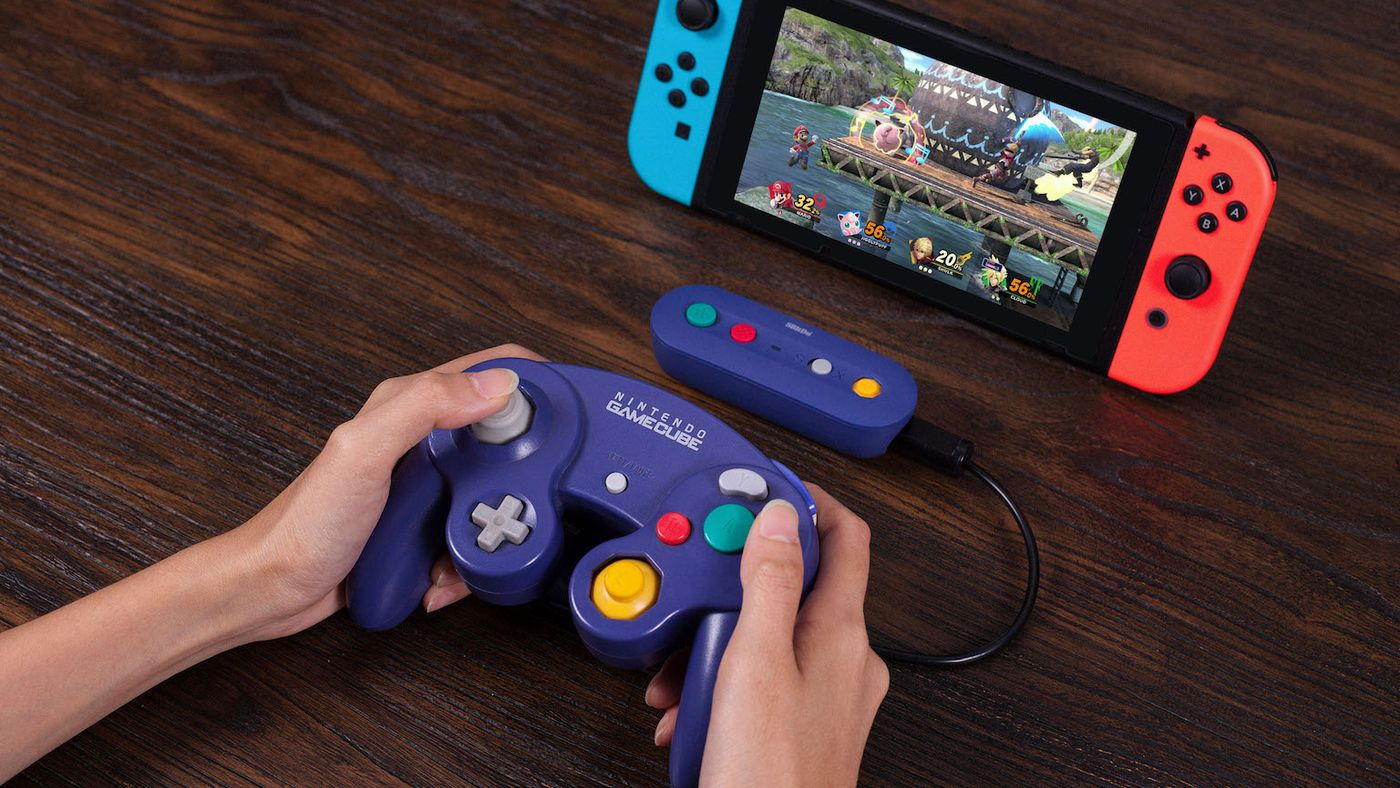8BitDo's adapter is the best way to play Smash Bros