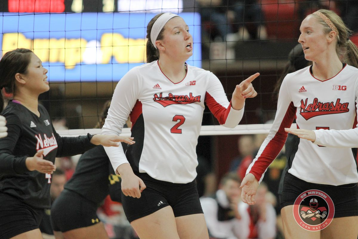 Gallery: Husker Volleyball Smashes Maryland