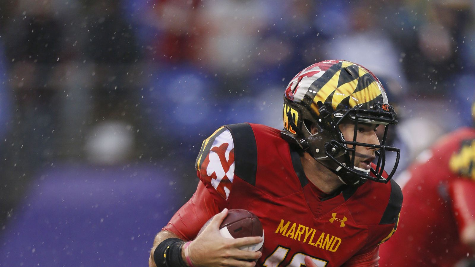 Maryland football to wear red uniforms with hand-painted ...