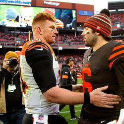 December 2019: In Week 14, the Browns were sluggish offensively to begin the Battle of Ohio against the 1-win Bengals team, but a 61-yard pick six by CB Denzel Ward gave Cleveland an early 7-3 lead. Later, the running game got established for a 27-19 win that was still a little too close for comfort. The win improved the Browns to 6-7, but little did we know, it would be the team's last win of the season.