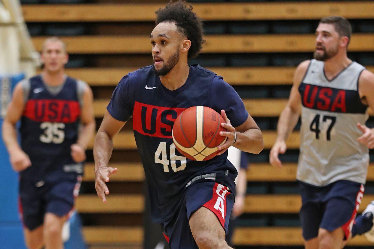 USA Basketball Mens National Team Practice - Australia