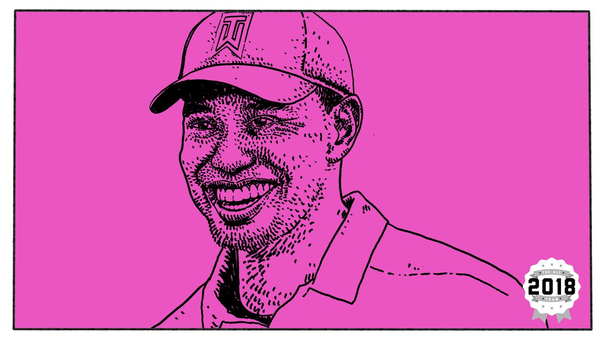 the five moments that best exemplify tiger woods s 2018 season the