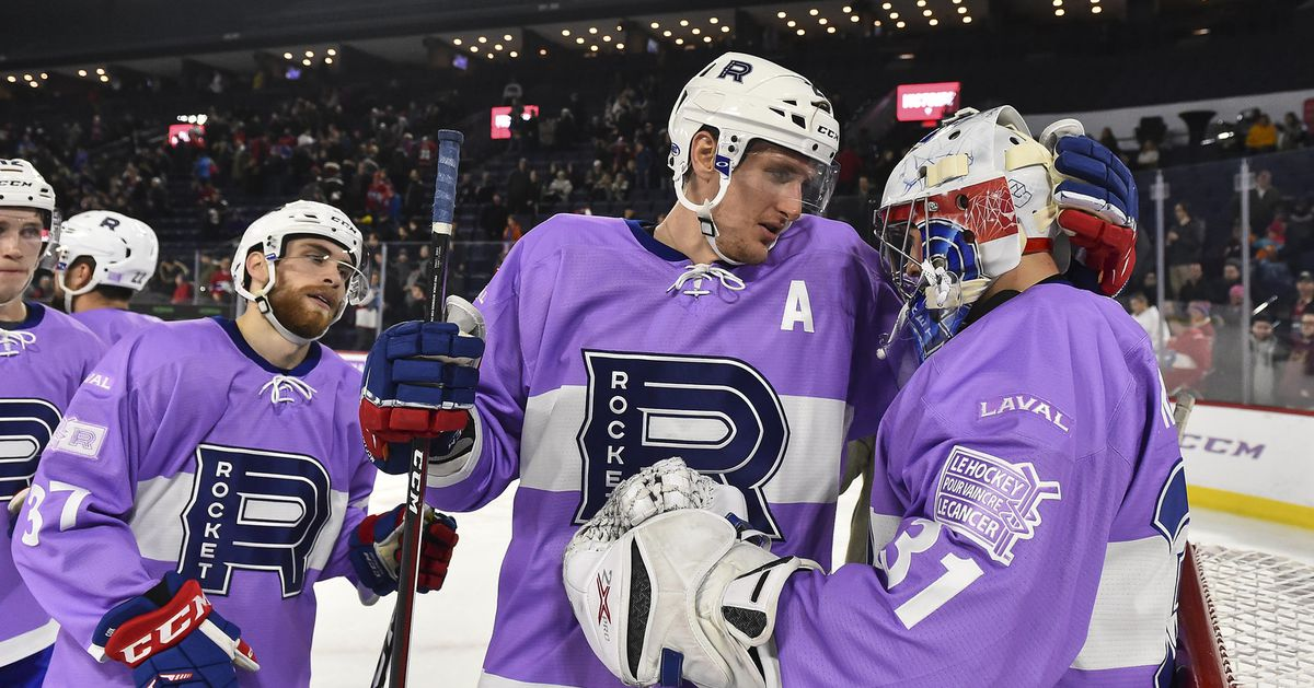 Rocket vs Sound Tigers highlights: Laval bounces back due to late goal - Habs Eyes on the Prize
