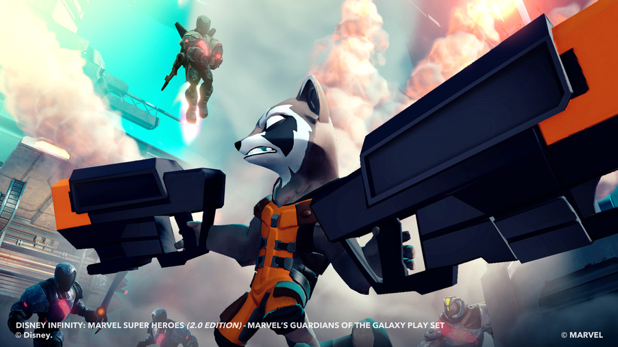 Disney Infinity 2 0 Adds A Gun Toting Raccoon And Other