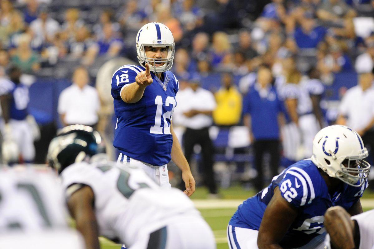 NFL: Preseason-Philadelphia Eagles at Indianapolis Colts