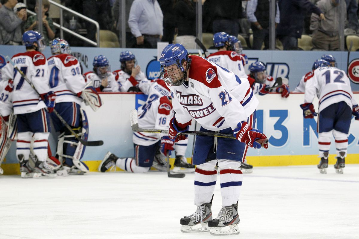 There's been more agony than enthusiasm in the early part of the 2013-14 season for UMass-Lowell.