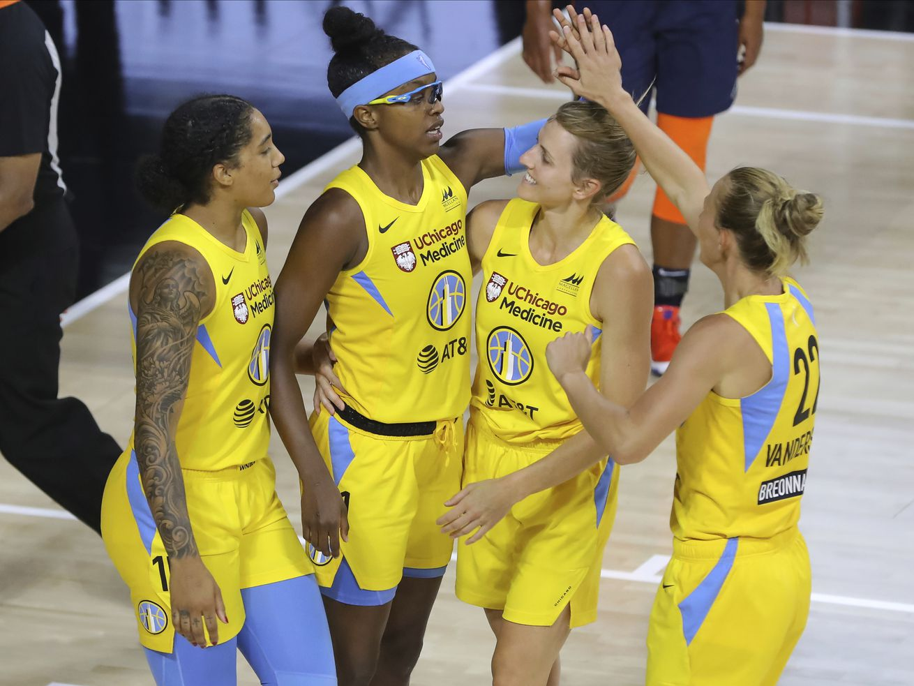 The Sky's game against the Fever is among those postponed by the WNBA.