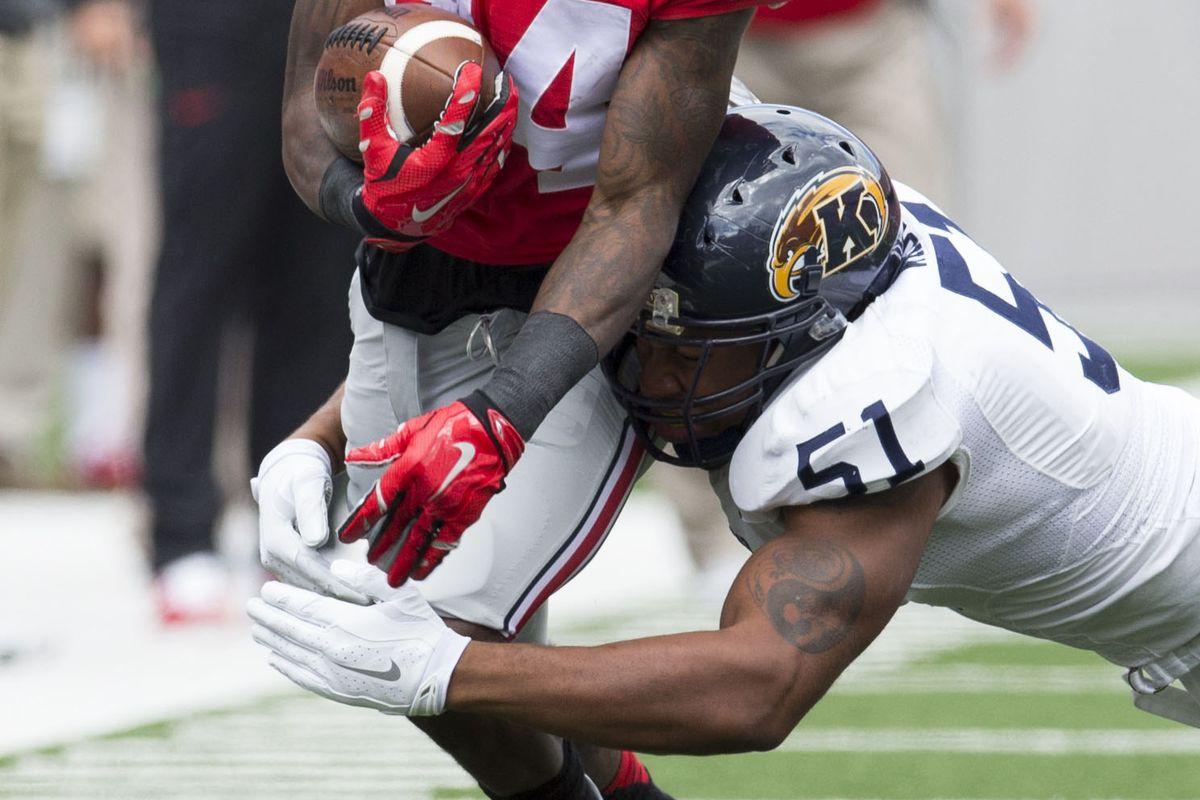 NCAA Football: Kent State at Ohio State