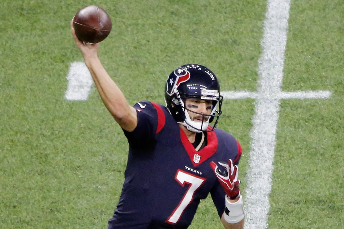 Was Brian Hoyer S Performance Against The Chiefs The Worst Qb Play You Ve Ever Seen Battle Red Blog