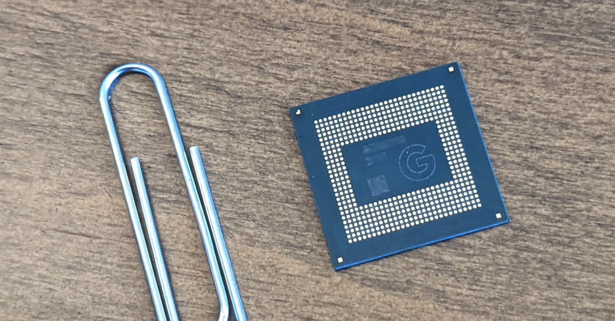 Google's Tensor chip is just step one towards really nice Pixel telephones