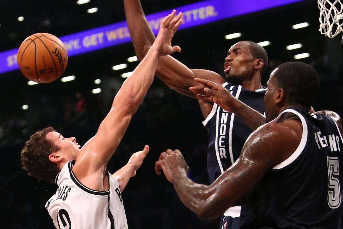 Hello Brooklyn, have we introduced you to our defensive wall?