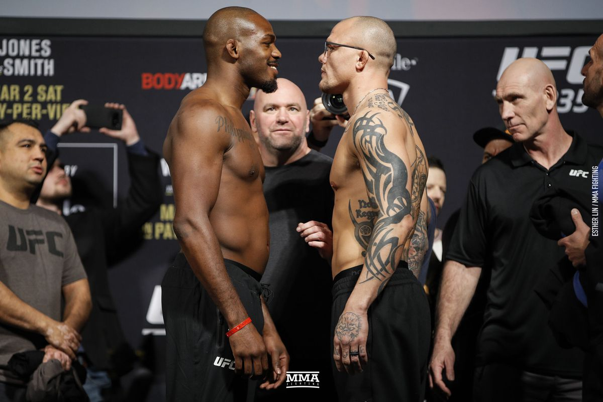 Image result for Jon Jones vs. Anthony Smith