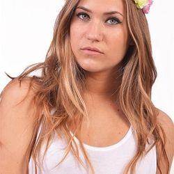 "Dani floral crown, <a href=""http://shopblush.com/shop/accessories/BLB01716-dani-floral-crown-green-primrose#.Uzz5rK1dVi4"">$28</a>"