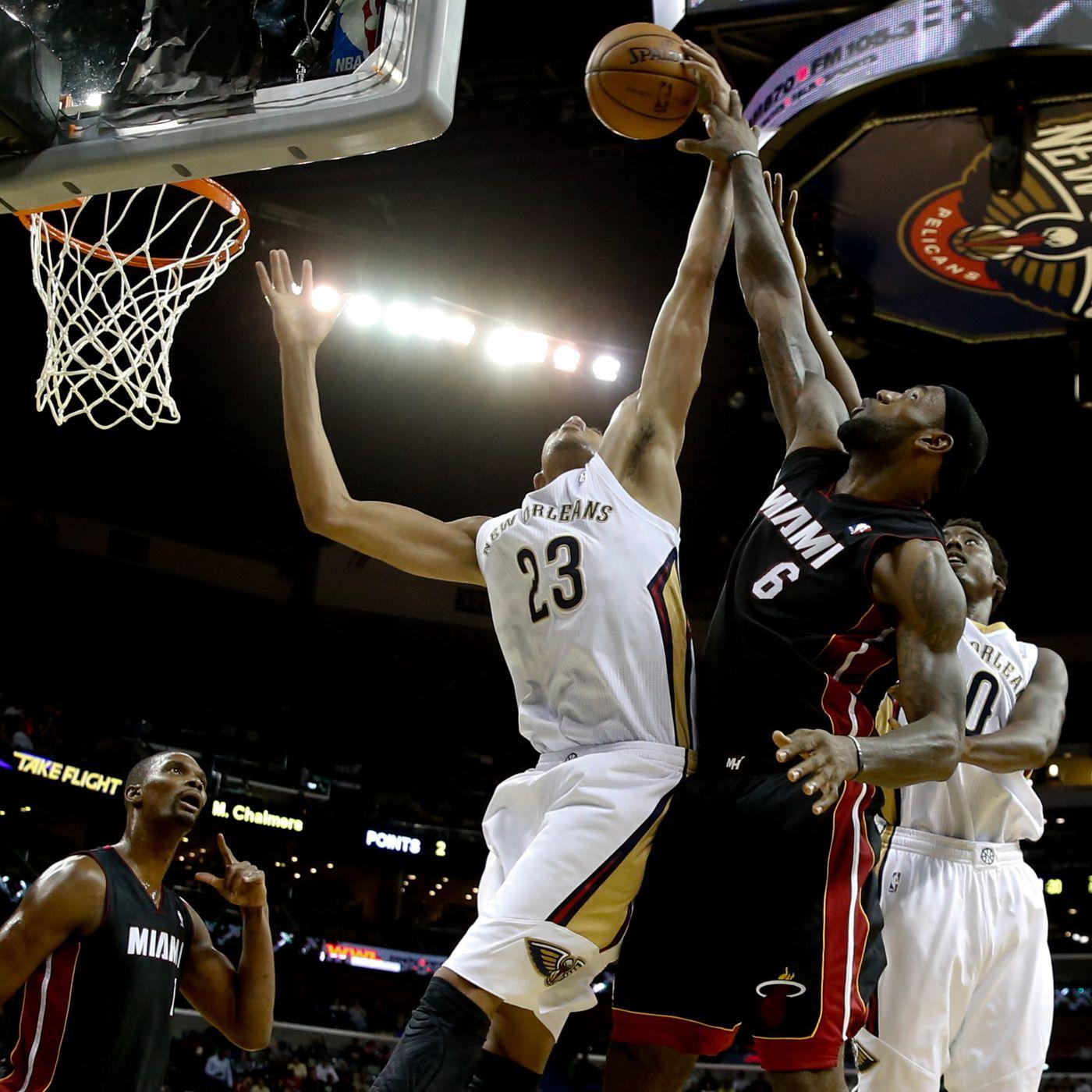 Open Thread Miami Heat Host Struggling New Orleans Pelicans