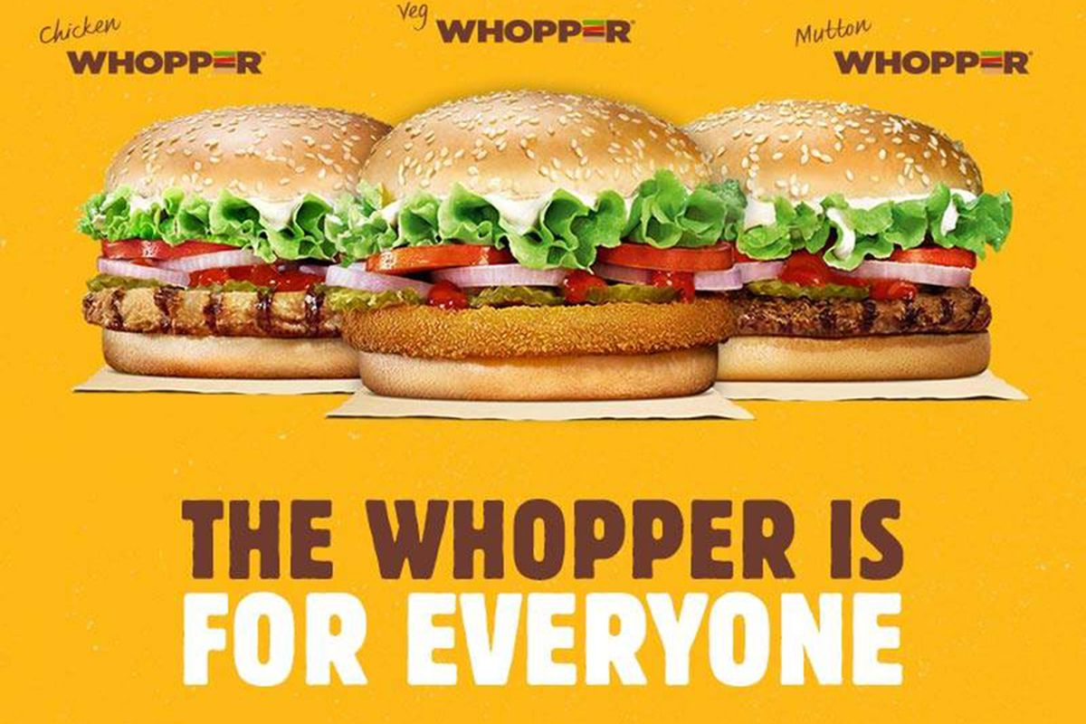 Burger King India Has the Greatest Whopper Selection Ever
