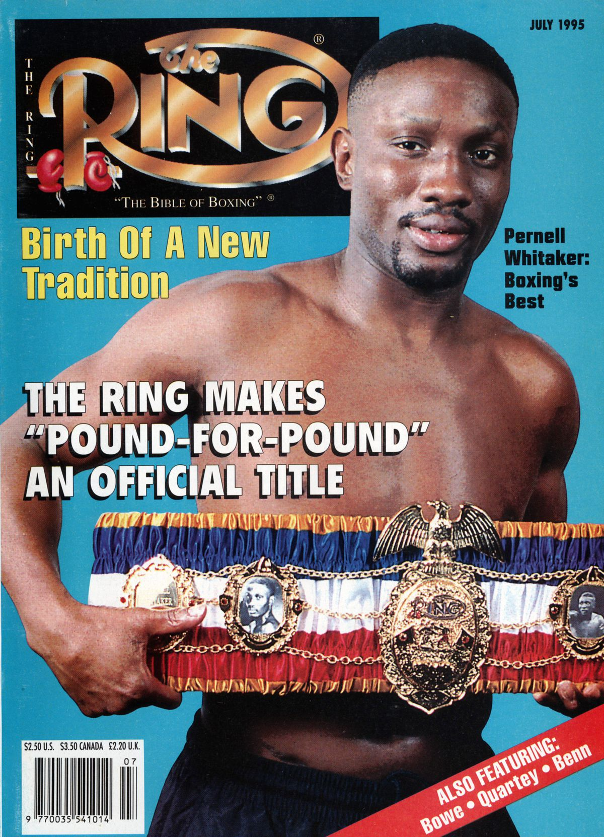 Ring Magazine Cover - Pernell Whitaker