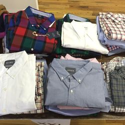 XXL shirts, $29