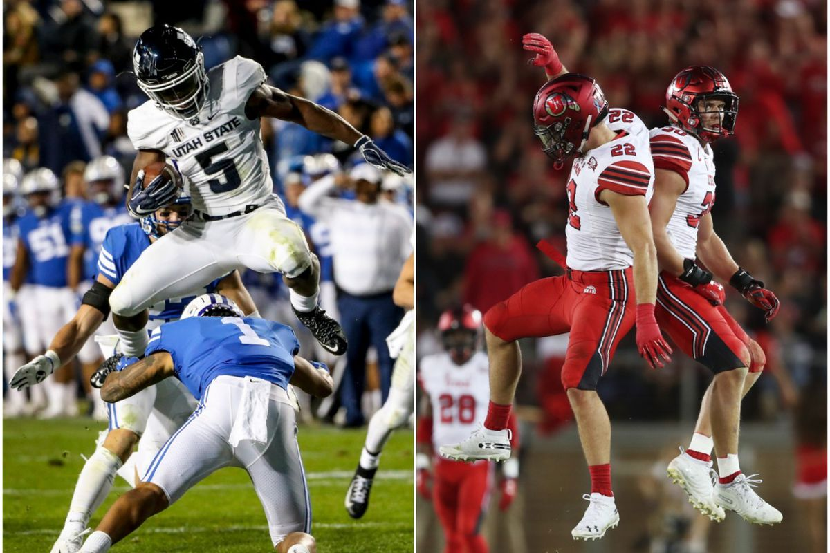 Both Utah State and Utah received votes in the Coaches Poll this week after dominant victories over BYU and Stanford, respectively.