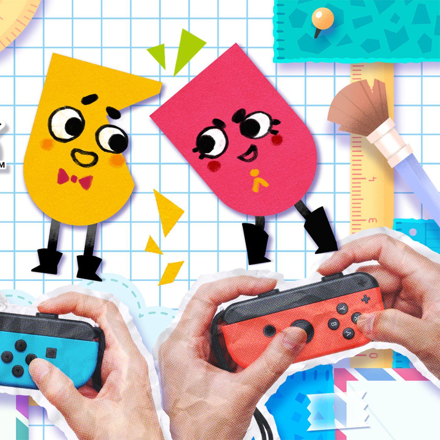 Snipperclips is the super cute, anti-Mario Party - Polygon