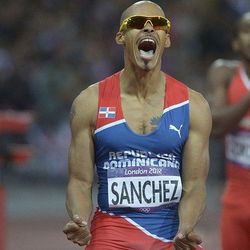 Dominican runner: Photo by Kirby Lee/USA Today Sports