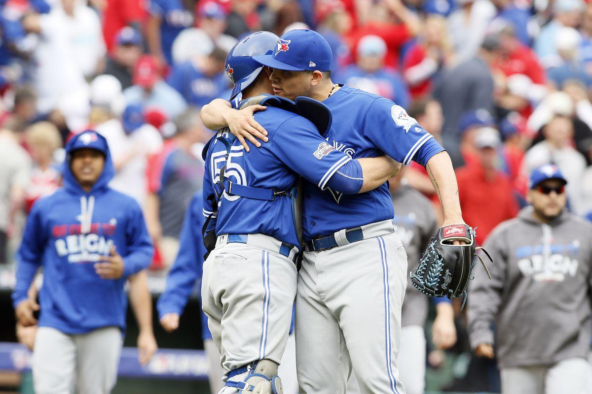 MLB: ALDS-Toronto Blue Jays at Texas Rangers