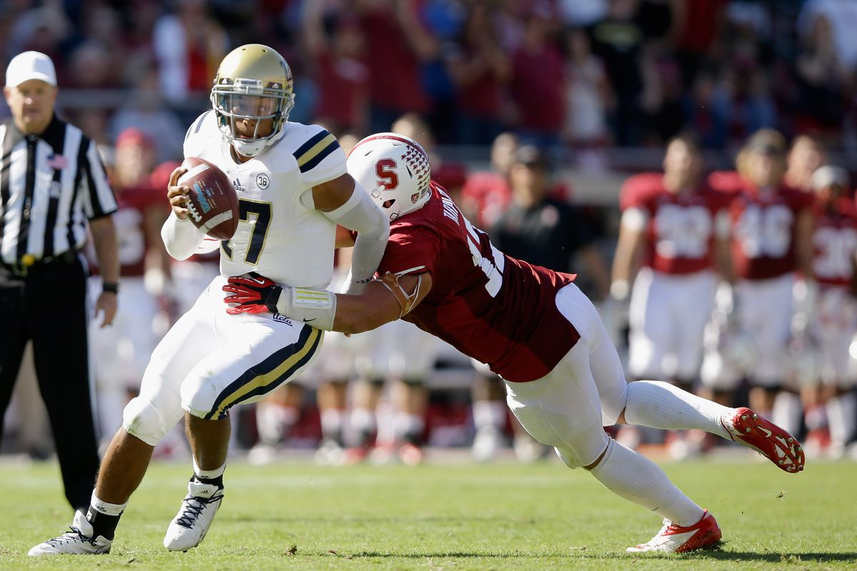 The Stanford defense dominated UCLA as the Cardinal bounced back from their loss to Utah