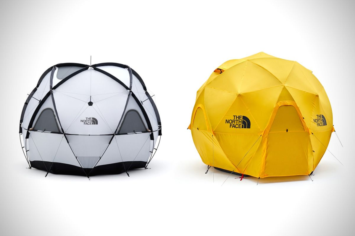 North face introduces a groovy geodesic dome tent curbed for Japan dome house price