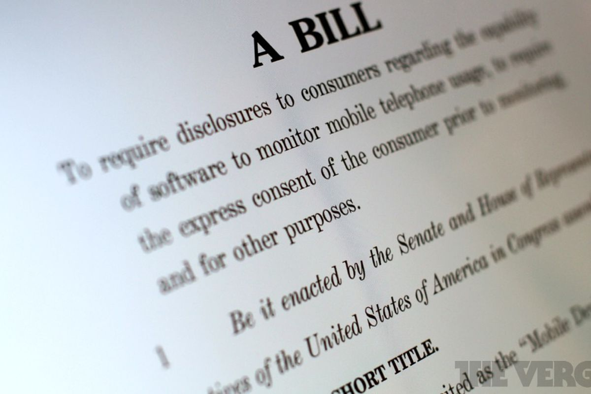 The Mobile Device Privacy Act