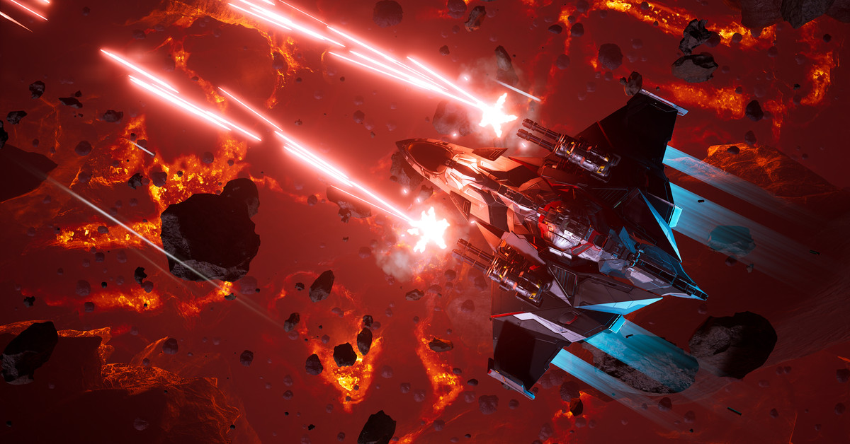 Chorus is a high-concept, AAA-quality space shooter about a living ship - Polygon