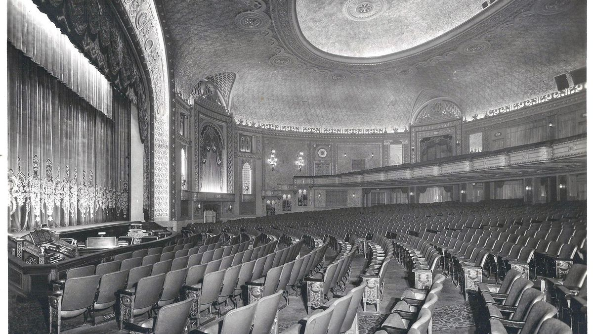 The interior of the Tennessee Theater, which opened in Nashville in 1928.