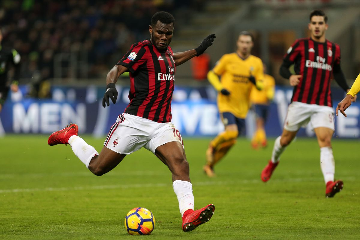 Franck Kessie of Ac Milan  in action during the Tim Cup...
