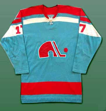 Quebec Nordiques jersey from 1973