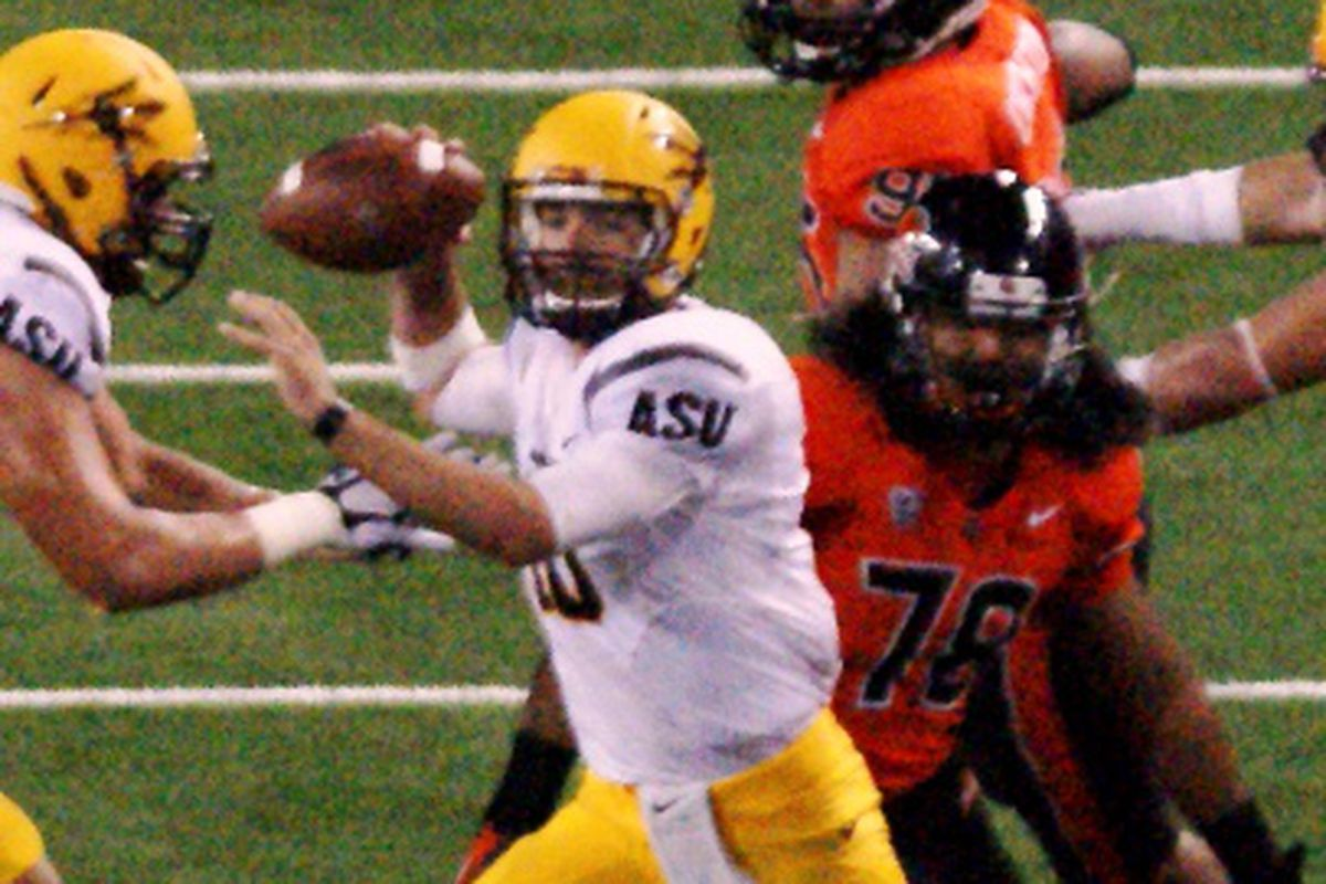 As Taylor Kelly goes, so goes the Sun Devils. But what's the full story on Arizona St.?