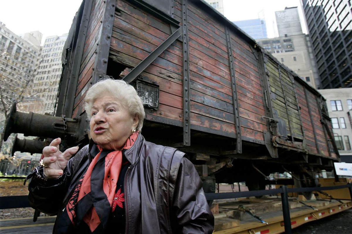 In 2005, Holocaust survivor Barbara Steiner stood in front of a Nazi-era German rail car that would be the anchor artifact of the Illinois Holocaust Museum and Education Center. The rail car was the type used by the Nazis during the Holocaust to transport