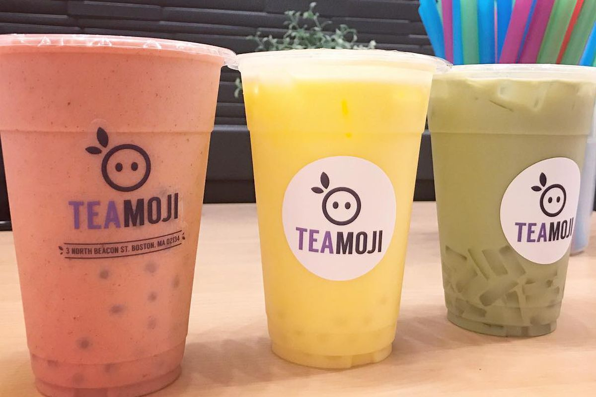 Allston's Newest Bubble Tea Shop Has an Emoji-Inspired Name - Eater