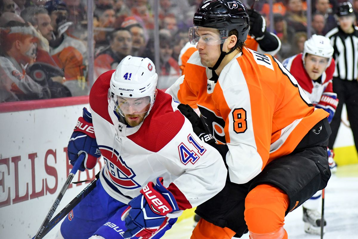 NHL: Montreal Canadiens at Philadelphia Flyers