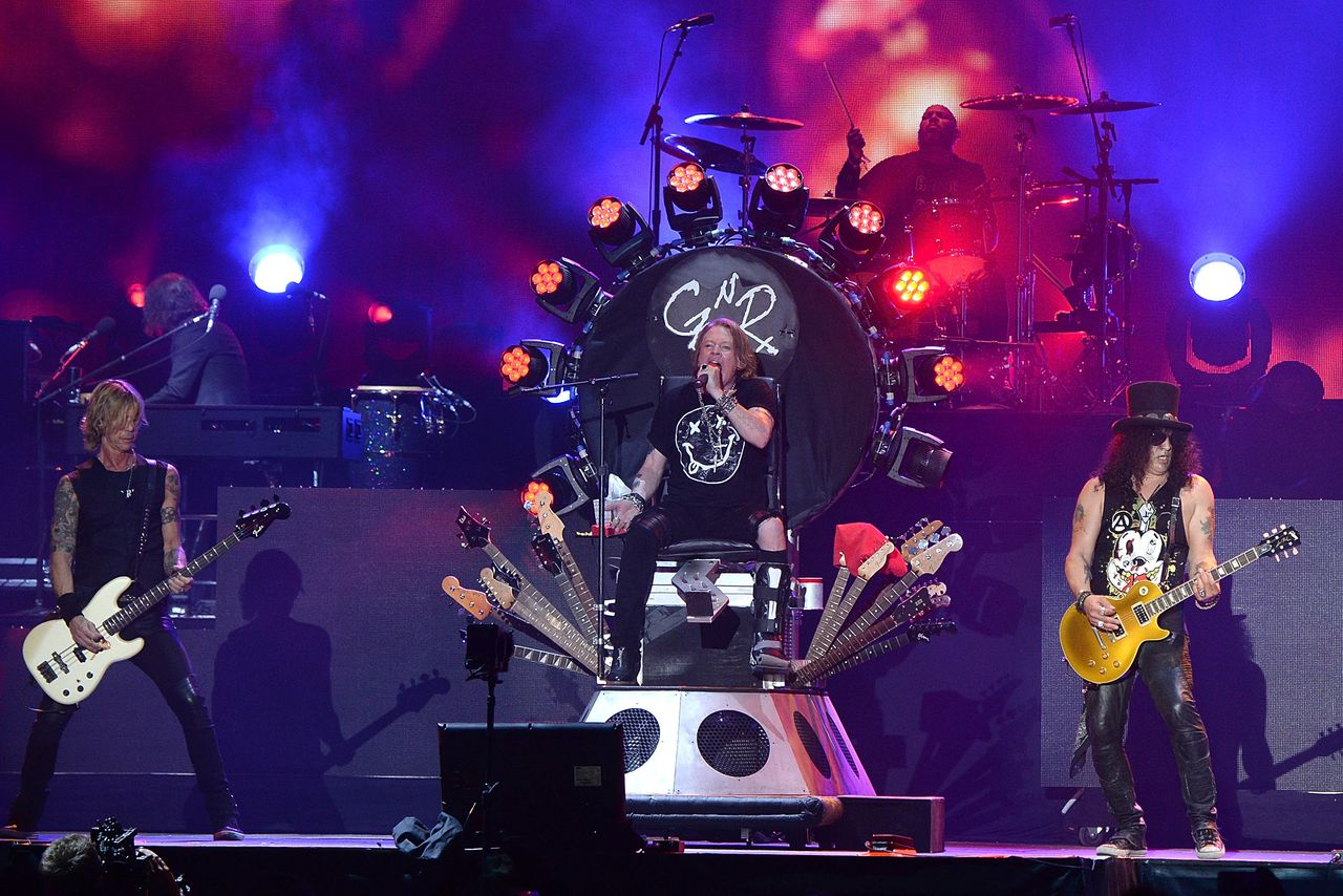 The Guns N' Roses reunion and the future of angry young men