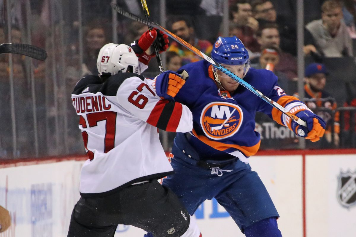 competitive price 3482f ab3ac Penalties Plagued New Jersey Devils in Preseason Loss to New ...