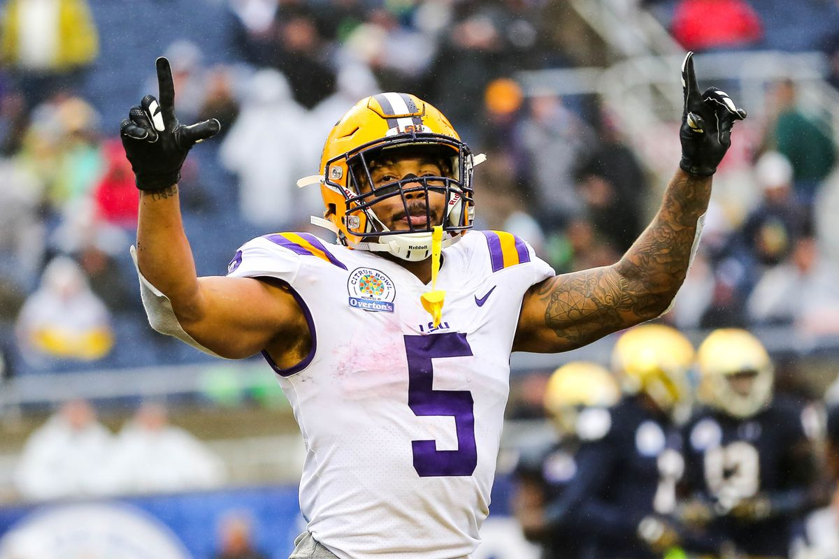 Why Derrius Guice might be the safest running back to pick in the 2018 NFL  Draft 6c4dba899