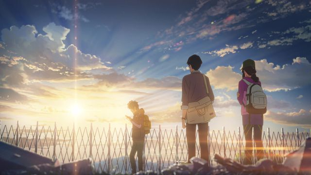 A scene from <em>Your Name</em>.