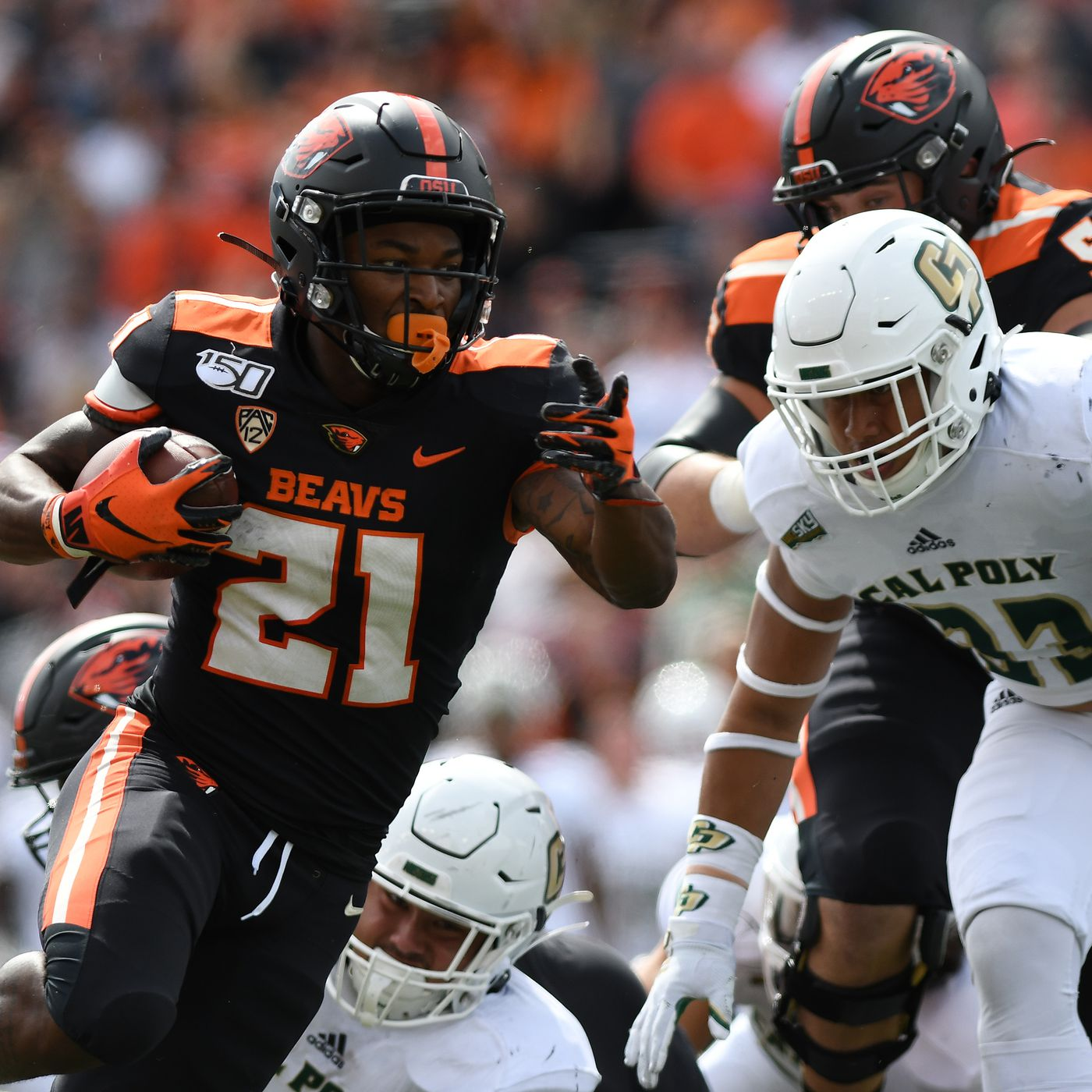 Oregon State Football What We Learned Versus Cal Poly Building The Dam