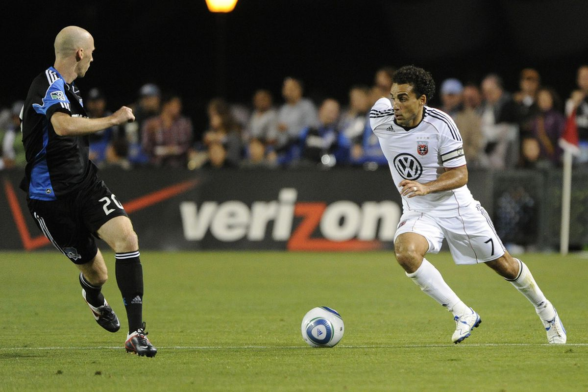 No prizes for guessing the MVP of DC United's Fourth Sixth of 2011.