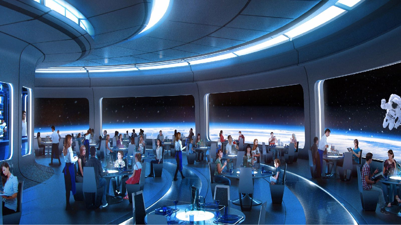 Disney plans outer space restaurant for epcot eater